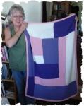 My rendition of The Moderne BabyBlanket