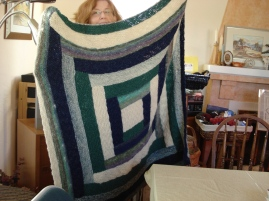 Peg's Log Cabin: Joseph's Blankie of Many Colors