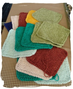 Cotton Chenille Wash Cloths