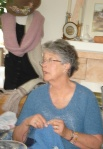 Jean wears what she knits!