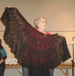 Darliss - a beautiful stole that was once displayed in my shop!