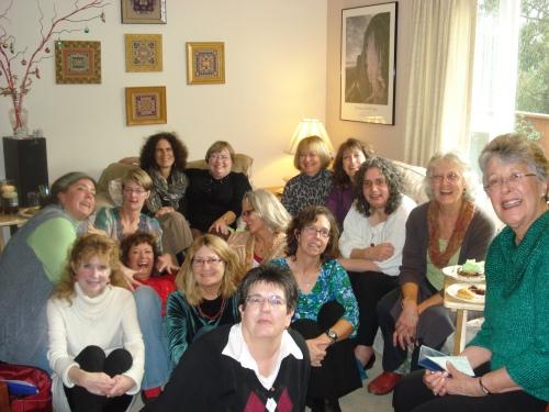 The group sans Carolyn