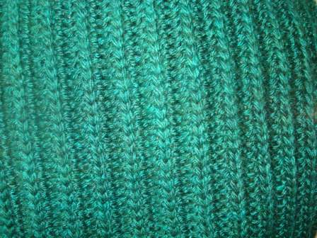 Detail of Terry's knit