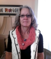 Susanne was inspired....her cable scarf became a cowl