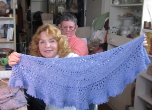 Janie and her Summer Flies Shawl