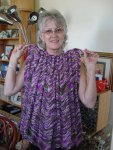 An afghan – a gift of love for my friendBarb!