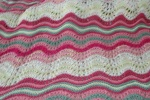 An afghan for my niece Betsy – a gift of love for her high schoolgraduation!