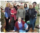 """Some of the """"tightly"""" knit Friday group!"""