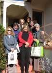 """Some of the """"tightly"""" knit Saturdaygroup!"""
