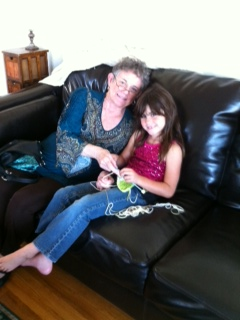 Marsha and granddaughter Nov 2012
