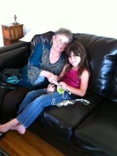 Marsha and granddaughter Nov 2012