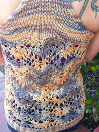 Spidery Tank - back view