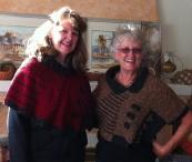 Debbie and Carolyn