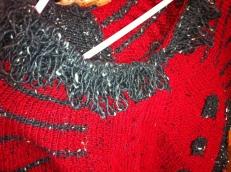 Looped Stitch Collar