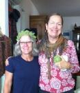 Maurie knit Susanne's hat!