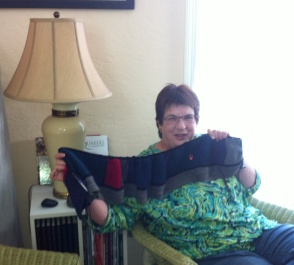 Sheri - A Stephen West scarf
