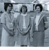 Mary, Peg, Carolyn