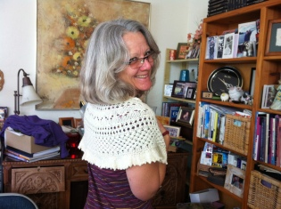 Susanne - Summer Flies Shawl
