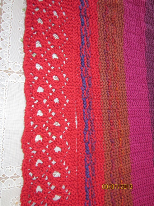 Prayer Shawl Edging