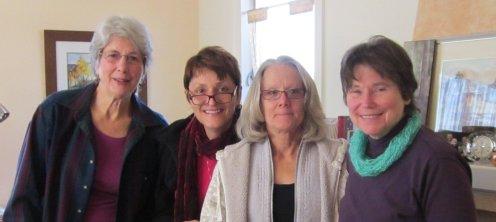 Nina, Katie, Susanne, Terry