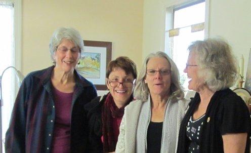 Nina, Katie, Susanne, Carolyn