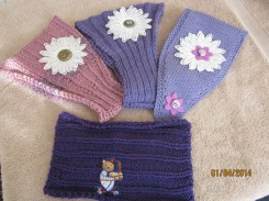 Headbands for Carolyn's niecies
