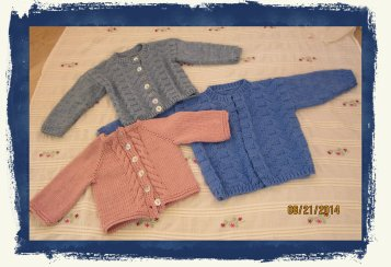 Kimberly's Baby Sweaters