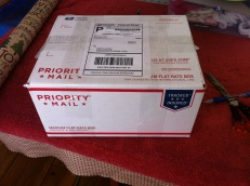 Package on its way