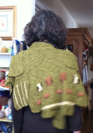 The back of the Windsor Shawl