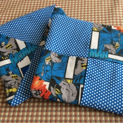 Batman theme for nephew Daniel - who has takaen up cooking.