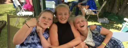 Nieces - Jade, Bella and Abby